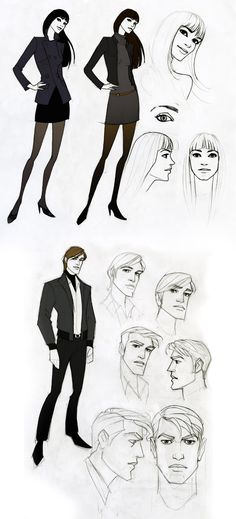 sketches by ~javieralcalde on deviantART ✤ || CHARACTER DESIGN REFERENCES | キャラクターデザイン • Find more at https://www.facebook.com/CharacterDesignReferences if you're looking for: #lineart #art #character #design #illustration #expressions #best #animation #drawing #archive #library #reference #anatomy #traditional #sketch #development #artist #pose #settei #gestures #how #to #tutorial #comics #conceptart #modelsheet #cartoon || ✤