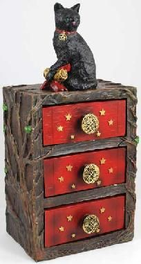 Witch's Familiar Altar Cupboard