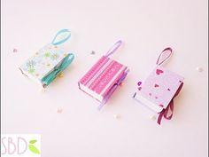 Mini notebook portatili Tutorial - DIY Mini Notebooks - YouTube