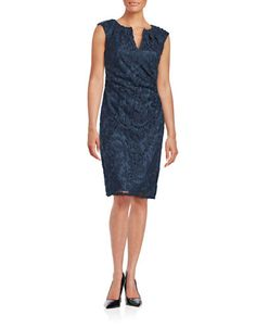 Women's | Cocktail Dresses | Embroiderd Sheath Dress | Hudson's Bay