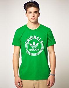 Aumentar Camiseta con estampado universitario de Adidas Originals