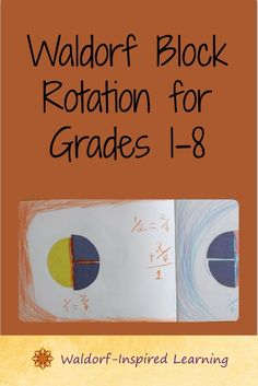 Establish your own yearly rhythm and Waldorf homeschooling curriculum plan with this outline of the traditional Waldorf block rotation grades for Waldorf homeschoolers. Waldorf Math, Waldorf Curriculum, Waldorf Education, Steiner Waldorf, Waldorf Salad, Kids Education, Curriculum Planning, Lesson Planning, Inspired Learning