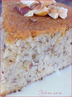 For Hazelnut cake Creusois rezepte calorie dinner calorie food calorie recipes Sweet Recipes, Cake Recipes, Dessert Recipes, Cakes Plus, Hazelnut Cake, Hazelnut Recipes, Cake & Co, Sweets Cake, Köstliche Desserts