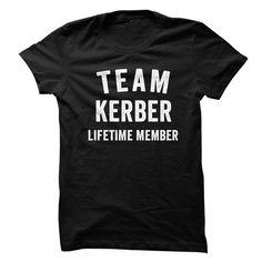 KERBER TEAM LIFETIME MEMBER FAMILY NAME LASTNAME T-SHIRT