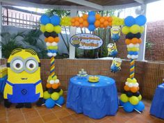 """Despicable Me / Birthday """"Despicable Me Yadiel's Birthday"""" 