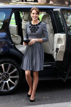 In Orla Kiely arriving at a Chance UK charity event. - ELLE.com