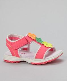 Look at this #zulilyfind! Pink & Light Pink Valenty Sandal - Kids by Carter's #zulilyfinds