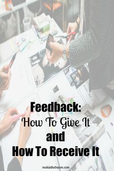 Feedback: How To Giv