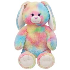 16 in. Watercolor Bunny  $18  www.buildabear.com  #buildabear and #Easter