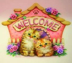 Welcome to my House HD Desktop Wallpaper
