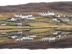 Urafirth reflections, Shetland.