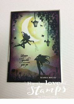 For the love of stamp collection by Hunkydory. Twilight Kingdom stamps