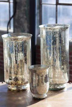 Uma forma facil de fazer vidro mercurizado e que da um ar vintage