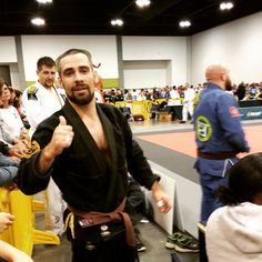 Keith Cebula wins Masters 2 Brown Belt Gold after an 18 month break from competing. Open later. #AtlantaOpen2015 #ibjjf #JiuJitsu #BJJ #masters