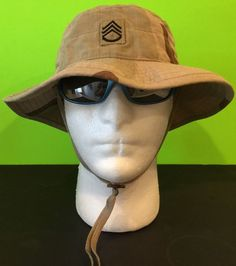 US Army Desert Camouflage Tri Color Boonie Hat GI Issue 7-1/4 | eBay