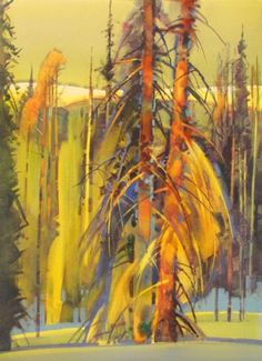 Portrait of Two Trees  Stephen Quiller