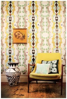 Sixty-Seven removable wallpaper from Timothy Sue