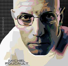 Michel Foucault by ivankorsario