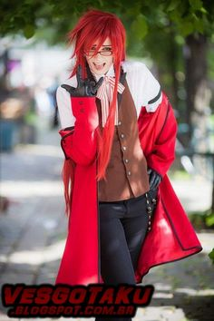 Black Butler - Grell cosplay