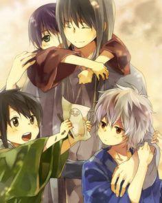 Shouyou-sensei, Gin-san, Zura & Takasugi~