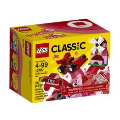 LEGO Classic Red Creativity Box (10707)