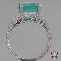 Gorgeous antique engagement ring.