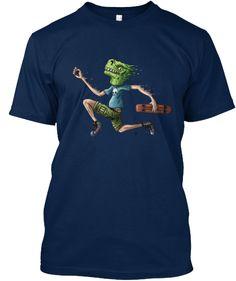 Lizard's Escape T-Shirt Front