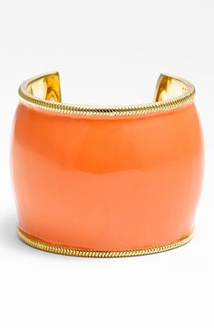 Belle Noel Enamel Cuff available at #Nordstrom