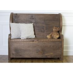 Rustic Pew Bench