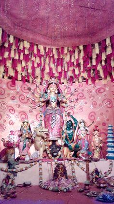 Durga Puja Kolkata, Durga Goddess, Tapestry, Home Decor, Hanging Tapestry, Tapestries, Decoration Home, Room Decor, Home Interior Design