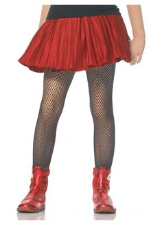 Kids Black Fishnet Stockings Pair of Child FishnetsComplete your girl's Halloween costume with these inexpensive stockings! The black fishnet stockings are mad Black Fishnet Tights, Black Fishnets, Fishnet Stockings, Kids Stockings, Striped Tights, Black Stockings, Halloween Accessories, Costume Accessories, Childrens Halloween Costumes