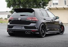 VW Golf7 R (Click on photo for high-res. image. ) Photo found here: http://boostaffection.tumblr.com/image/113715417227