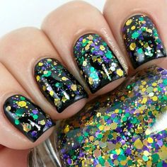 31 Fantastic Mardi Gras Nail Art Ideas ...