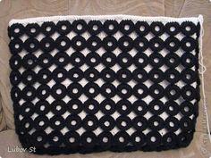 szydełkowa torebka z pierścieni z koralikami 20