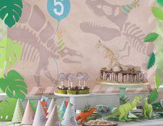 "Dinosaur Party / Birthday ""Modern Dinosaur Party"" | Catch My Party"