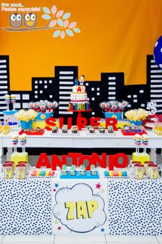 Pra você festas especiais: Super Antonio