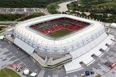 Arena Pernambuco by Fernandes Arquitetos Associados #wc2014: http://www.archello.com/en/collection/world-cup-2014-stadiums