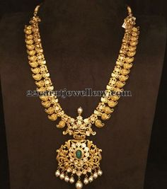 Jewellery Designs: Traditional Mango Set with Uncuts Gold Jewellery Design, Designer Jewellery, Handmade Jewellery, Silver Jewellery, Jewellery Shops, Temple Jewellery, Fashion Jewellery, Jewellery Box, Gold Jewelry Simple