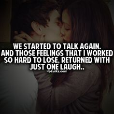 we started to talk again. and those feelings that i worked so hard to lose, returning with just one laugh. Amazing Quotes, Great Quotes, Inspirational Quotes, Sad Quotes, Quotes To Live By, Short Quotes, Encouragement, Hopeless Romantic, How I Feel