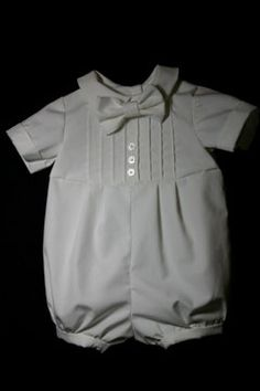 Baby Boy Blessing Outfit / Baby Boy Christening by TigersTies, $48.00