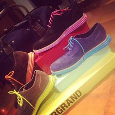 A creative spin on traditional dress shoes from Cole Haan! (Aug. 15, 2012)
