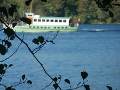 The steamer on the lake
