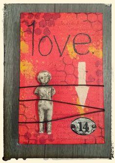De Stempelwinkel - Designteam      : Valentines Mini Canvas