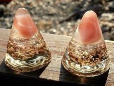 ORGONIT-Růžový Achát,mix Gemstone Rings, Gemstones, Handmade, Jewelry, Decor, Hand Made, Jewlery, Decoration, Gems