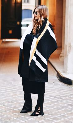 Blanket Coats   Your Ultimate Fall Shopping Guide via @WhoWhatWear