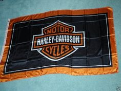 NEOPlex 2' x 3' Harley Davidson Shield Black Flag by NEOPlex. $39.95. These 2 x 3 foot motorcycle and motocross flags are made from super polyester that is durable, yet lightweight enough to fly in even the lightest breeze. It has 2 brass grommets firmly attached to heavy canvas on the inner fly side. Bright, vivid colors and colorfast to reduce fading. Many titles to choose from.