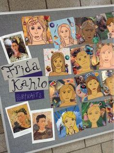 Art at Becker Middle School: Surrealist Portraits (& Frida!)