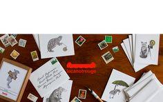 lecanotrouge stationery and art prints