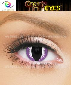 Cobra contact lenses are perfect for those using Halloween make-up some great results can be had.