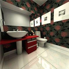 Não é todo mundo que tem lavabo em casa. Nos apartamentos mais novos, eles foram deixado de lado, pois cada metro quadrado anda muito valioso. Assim, perde
